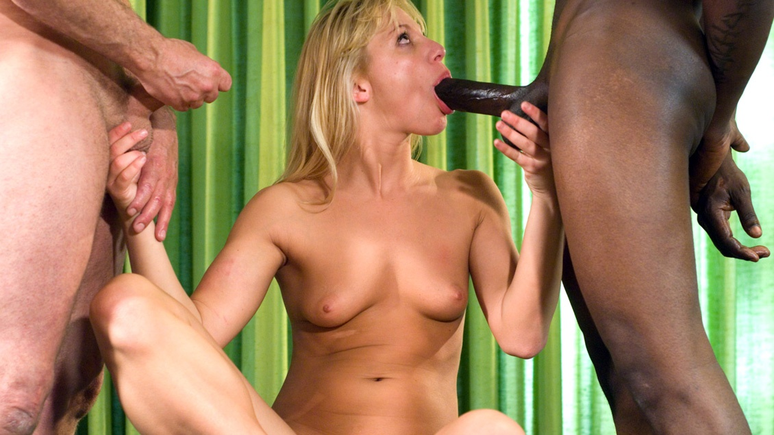 DP and Anal for a Wild Blonde