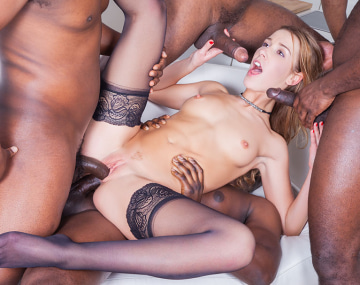 Private HD porn video: St. Valentine's Extreme Gangbang