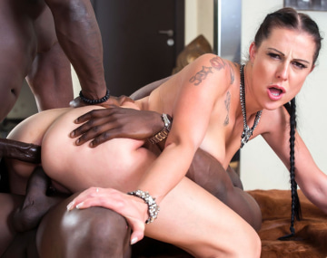 Private HD porn video: MILF Texas Patti Enjoys in her First Interracial DP