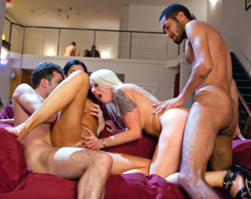 Private HD porn video: India Summer Has an Interracial Foursome with Lorelei Lee