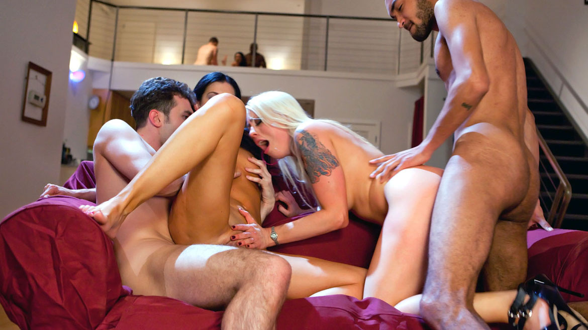 India Summer Has an Interracial Foursome with Lorelei Lee