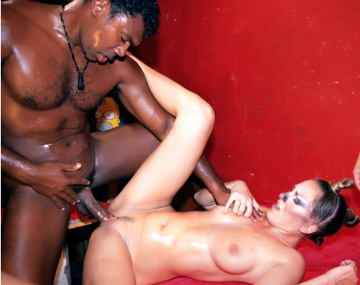 Private  porn video: Mandy Bright and Mia Stone in an Interracial Orgy