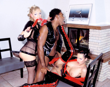 Private  porn video: Michelle Wild and Britnee in a Fetish and Interracial Anal 3 Way