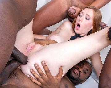 Private HD porn video: Schoolgirl Linda Sweet Enjoys Double Anal in Gangbang
